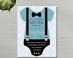 baby boy shower invitation etsy