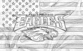 Philadelphia Flag Philadelphia Eagles Logo On Usa Flag Sketch 1920x1200 Wide Nfl