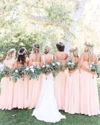 Light Pink Bridesmaid Dress Blush Pink Bridesmaid Dresses 2017 Wedding Ideas Magazine