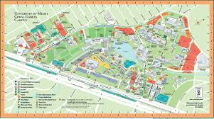 Washington University Campus Map by University Of Miami Map My Blog