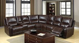 reclining leather sectional sofa sofa nrtradiant