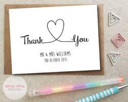 thank you cards etsy uk
