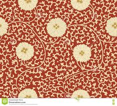 chinese design traditional chinese floral seamless pattern for your design