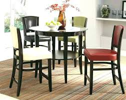 how high is a counter height table high table and chair set high counter height 5 piece table and chair