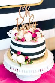 cake girl baby shower cake topper in glitter oh baby cake by zcreatedesign