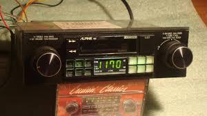 Car Audio Decks Alpine 7165 Shaft Radio Cassette Aux Cd Ipod Old S Rare Jpegbay