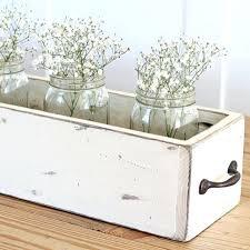 diy wood box centerpiece table decor for kitchen tea centerpiece