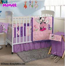 Minnie Crib Bedding Set Minnie Mouse Crib Bedding Ebay