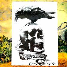 tattoo home decor online get cheap crow temporary tattoo aliexpress com alibaba group