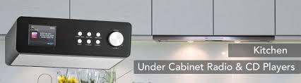 Kitchen Cd Player Under Cabinet by Kitchen Cabinet Radio Fm Dab Cd Player U0026 Bluetooth