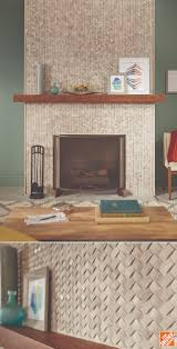 Tiled Fireplace Wall by 208 Best Inspiring Tile Images On Pinterest Bathroom Ideas Home