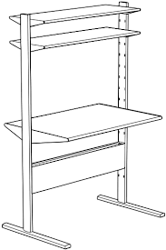 how to assemble ikea desk fredrik instructions jerkersearcher com