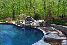 custom swimming pool features in shelton and monroe connecticut