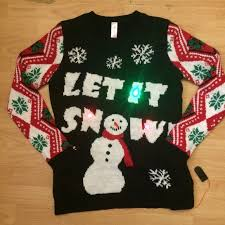 55 off no boundaries sweaters ugly christmas sweater light up