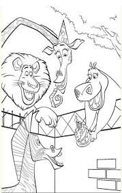 madagascar 2 coloring pages 100 images madagascar coloring