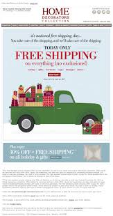 Home Decorators Free Shipping Code 2013 122 Best Christmas Holiday Emails Images On Pinterest Holiday