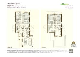 3 floor plan arabian ranches casa floor plans