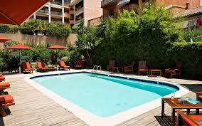 hotel with private beach in sainte maxime matisse hotel