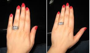 how to wear wedding ring set how to wear a wedding ring set williams