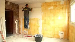 decoration arcade platre plafonner un mur etape par étape bricolage youtube