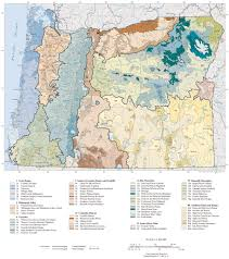 Map Of Southern Oregon by Ecoregions Of Oregon U2013 The Wilds Project