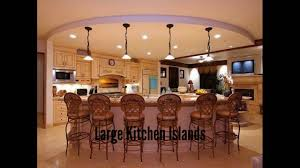 Pictures Of Kitchen Designs With Islands Large Kitchen Islands Kitchen Designs Gallery Youtube
