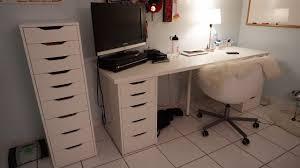 skruvsta swivel chair room tour ikea linnmon alex victoria nicole youtube