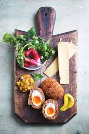 11235 best bistronomie images on pinterest food vegetarian scarlett moffatt s scotch eggs from jamie and jimmy s friday night feasts