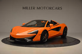 orange mclaren rear 2018 mclaren 570s spider stock mc315 for sale near greenwich ct