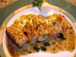 recette d escalopes de poulet a la moutarde et ses oignons de