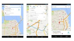 android maps updated maps for android gets new design