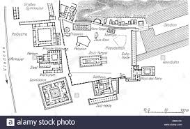 geography travel greece olympia site plan of the holy