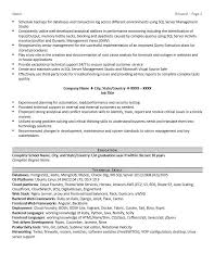 Database Administrator Resume Examples by Database Administrator Resume Example And Tips Zipjob