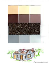zspmed of great house color to match brown roof 21 remodel home