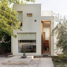 minimalist house oversized modern statement door casa besares
