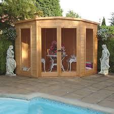 Summer Garden Sheds - summer houses log cabins u0026 summerhouses wickes co uk