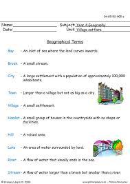 free village settlers printable resource worksheets for kids