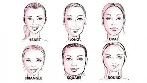 pear shaped face hairstyles how to match your hairstyle to your face shape hair rocks