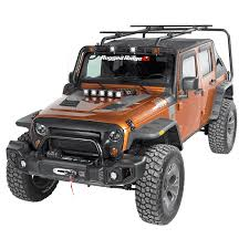 Rugged Ridge Jk Bumper All Things Jeep Sherpa Roof Rack Kit For Jeep Wrangler Unlimited