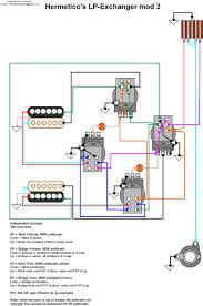 hermetico guitar wiring diagram hermetico u0027s lp exchanger mod 2