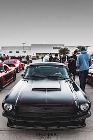 hoonigan mustang suspension 1965 mustang restomod 1964 u002766 mustang fastback pinterest