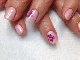 how to gel polish application with stamping youtube