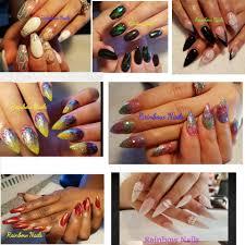 rainbow nails home facebook