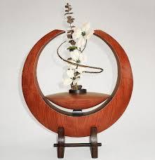 ikebana vase large crescent ikebana vase terrestra