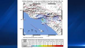 Usgs Earthquake Map California Shaking Reported With M3 8 Earthquake U0027s