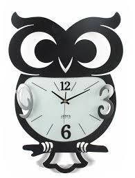 Clock Designs by Art Design Owl Wall Clock Metal Wall Clock Wall Clock Vanguard