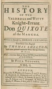 the world of don quixote digital collections for the classroom