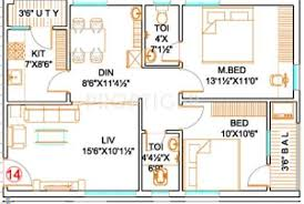 floor plans 1000 sq ft 1000 sq ft 2 bhk floor plan image mk builders and developers mk