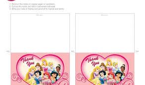 printable thank you cards princess free printable picture thank you cards disney princess thank you