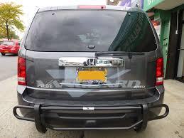 nissan rogue rear bumper protector rear bumper guard double tube blk auto beauty vanguard